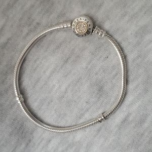 Pandora two toned 14k gold insignia bracelet